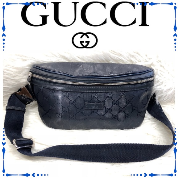 350894ed3 Gucci Bags | Authentic Monogram Imprime Fanny Pack | Poshmark